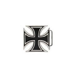 Malteserkors Svart/silver