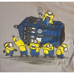 "Minioner ""Dr Who Tardis"""