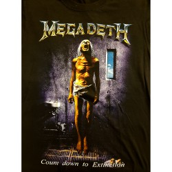 """Megadeth """"Count down to..."""