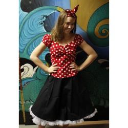 Svart kjol 50 tal / rockabilly
