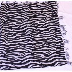 Svart / vit Zebra mönstrad...